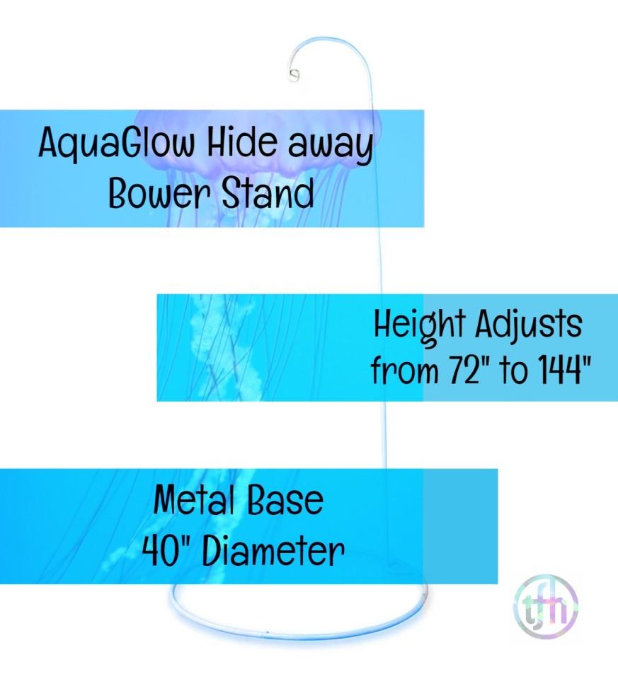 AquaGlow Jelly Hideaway Stand