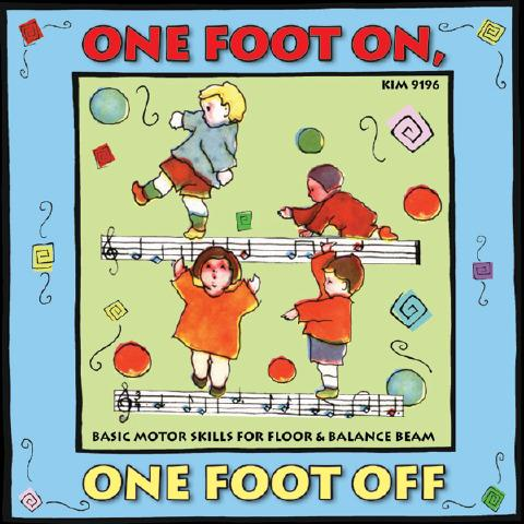 One Foot On, One Foot Off - CDs DVDs Sensory Toy