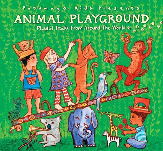 Music CD, Animal Playground