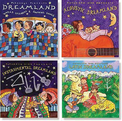 Dreamland CD's Set of 4
