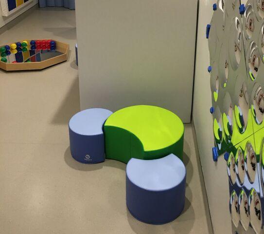 Flexible Seating Pouffe Set