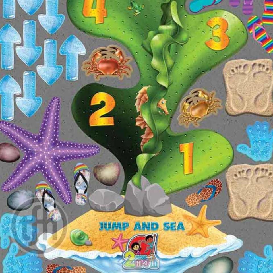 Sensory Path - XXLong -Sand and Sea