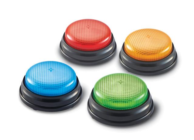Light-up Answer Button Set of 4