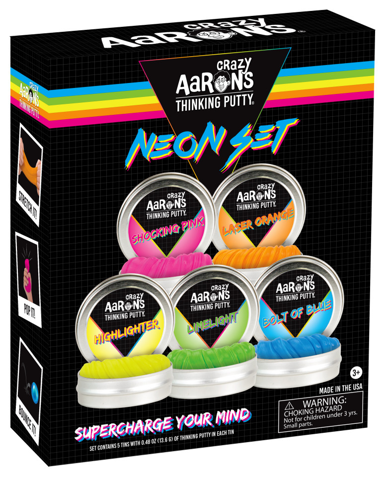 Crazy Aaron's Neon Set