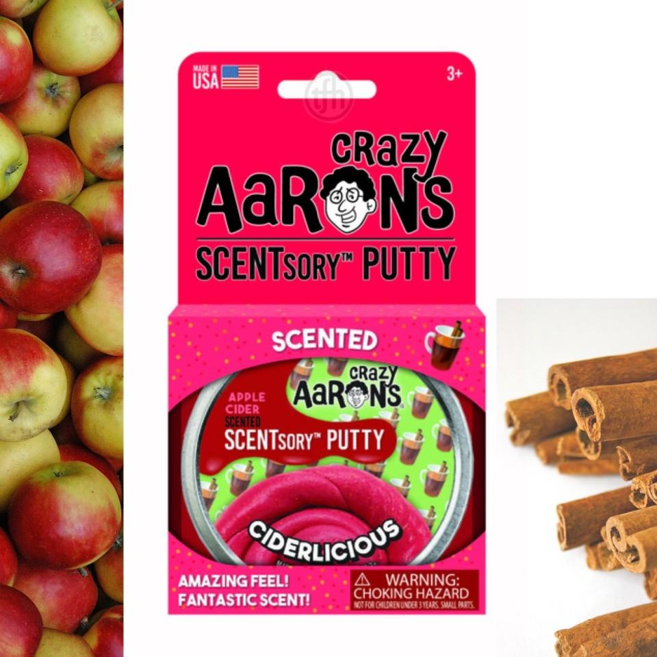 Crazy Aaron's HOLIDAY Scented Putty