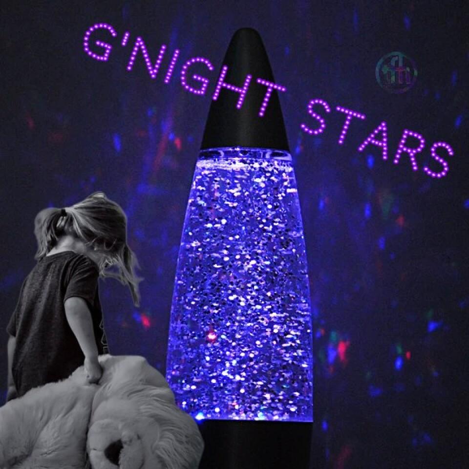 Colour Changing Glitter Rocket Lamp