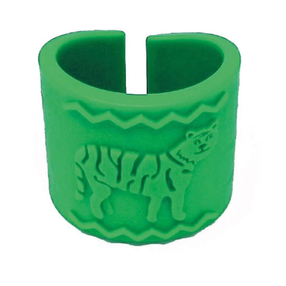 Tiger Band - Heavy-Duty Cuff with Tiger Motif