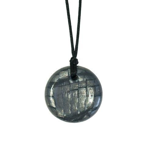 Chewigem® Disc Pendant-Pearl Storm