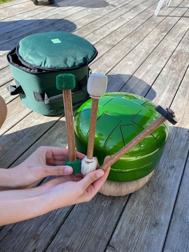 Sensory Drum With Meditative Sounds