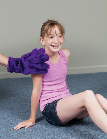Fluffig handske