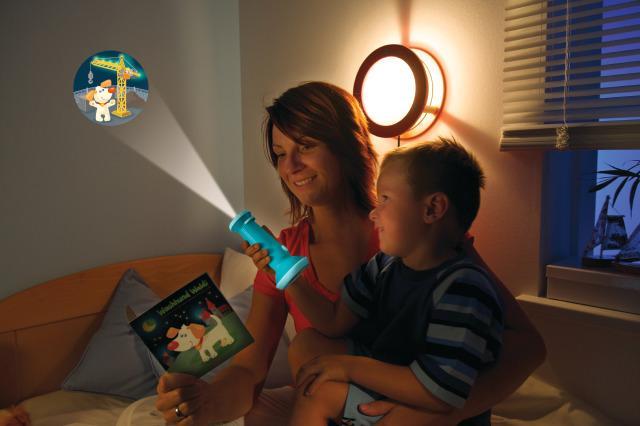 Flashlight Image Projectors - Waldi the guard dog