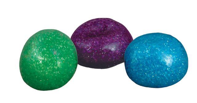 Glitter Bead Sensory Balls Set of 3