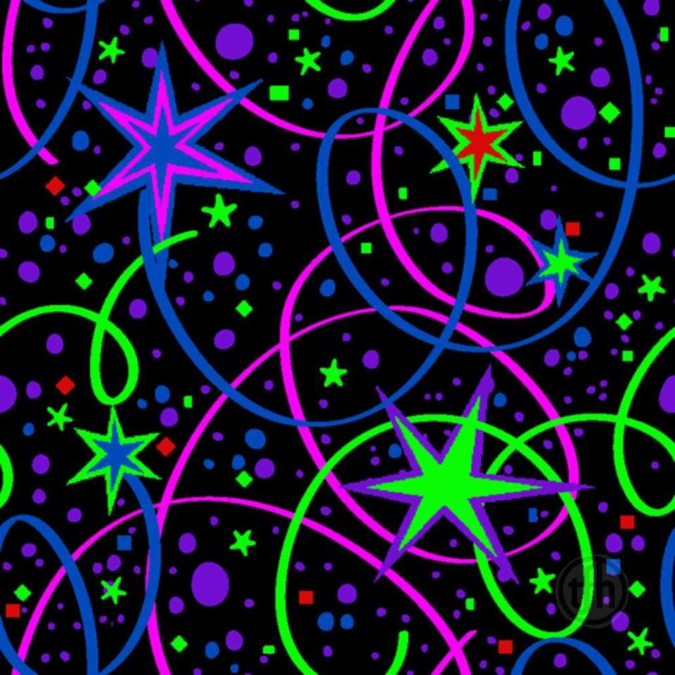 Glow Carpet Ribbons and Stars