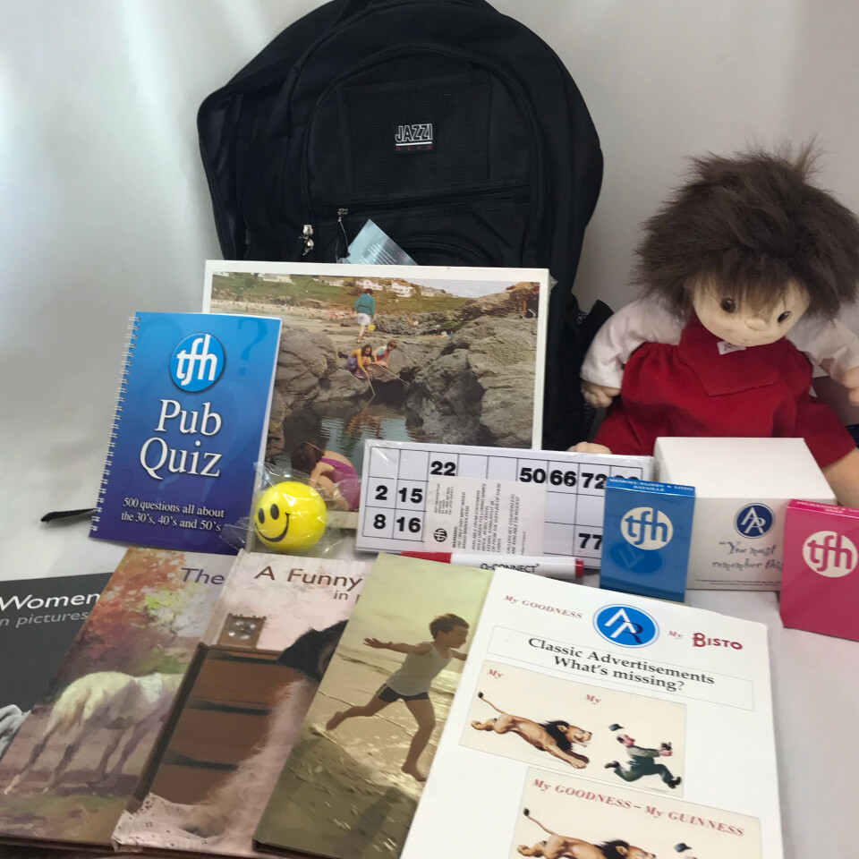 Dementia Resource Back Pack