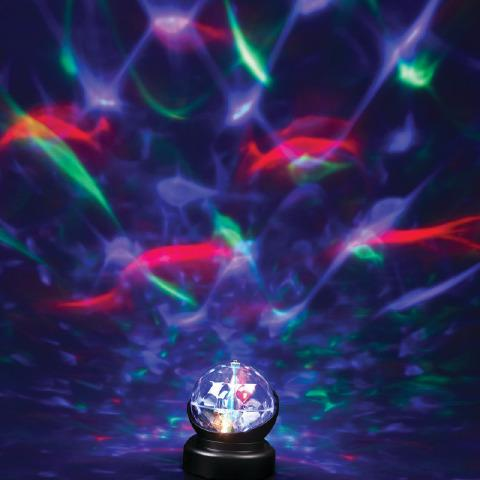 Sensory LED Kaleidoscope Ceiling Projector Lamp