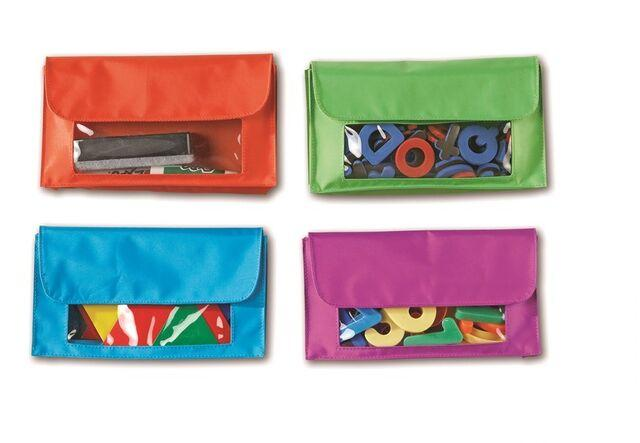 Magnetic Storage Pockets   Set of 4