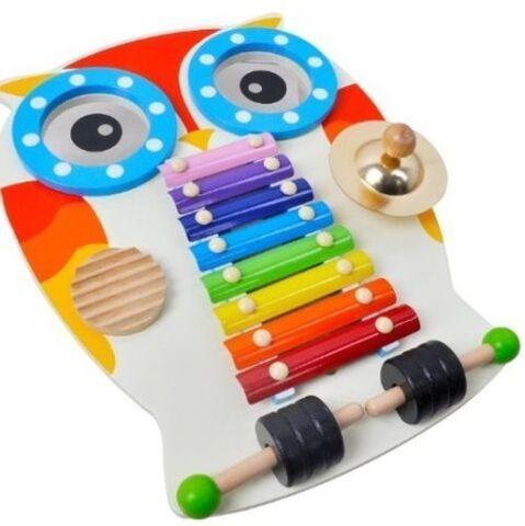 Musical Owl - Noisy Sensory Toy