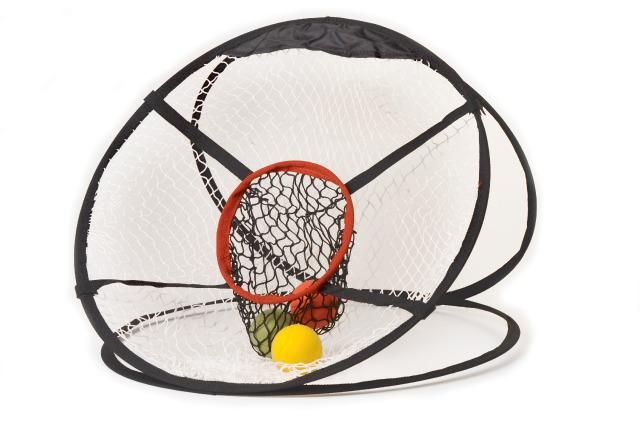 Foldable Target Net for Ball Games