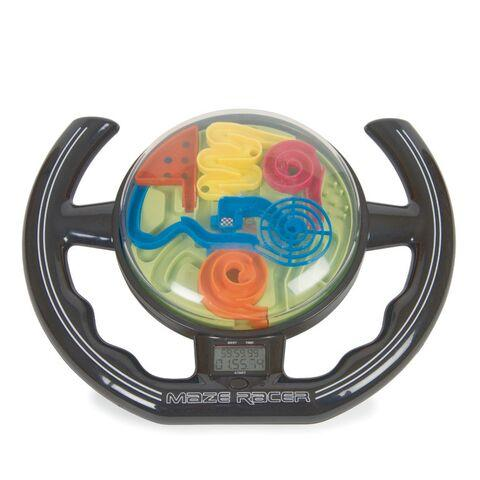 Racing Maze Steering Wheel Game