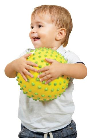 "Sensory Dot Balls (set of 4-4"" balls)"
