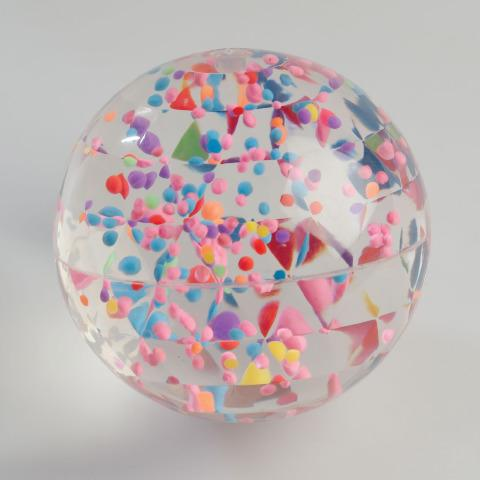 Swirl Bouncy Ball - Visual Sensory Toy
