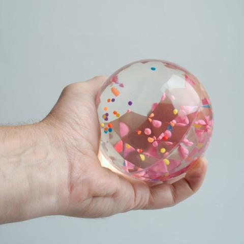 Swirl Bouncy Ball - Visual Sensory Toy
