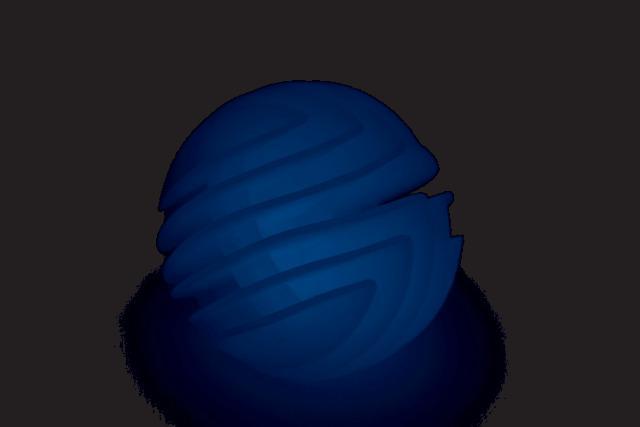 Honeycomb UV Lights Ball