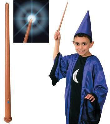 Light Up Wizard Wand With Trail Of Light