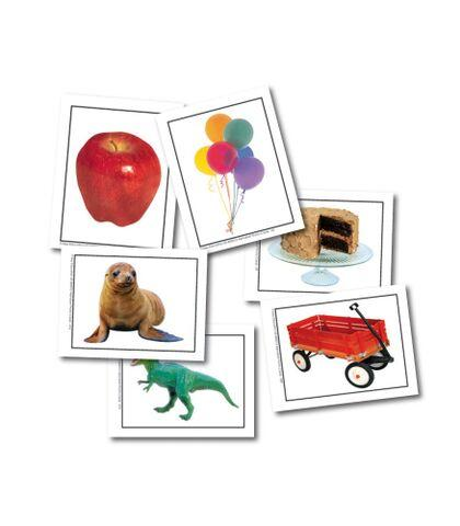 Alphabet Photo Object Learning Cards