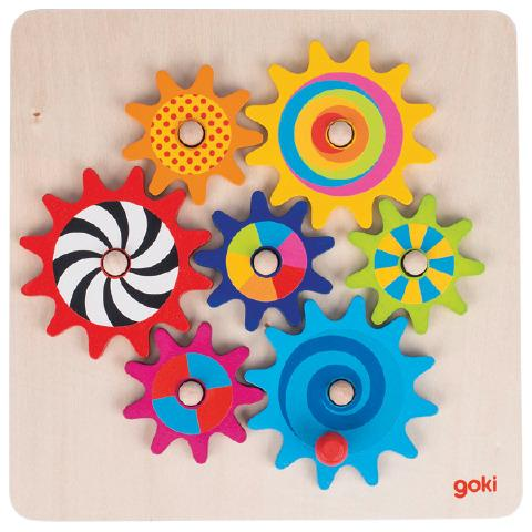 Cogwheels - Spinning Things Sensory Toy