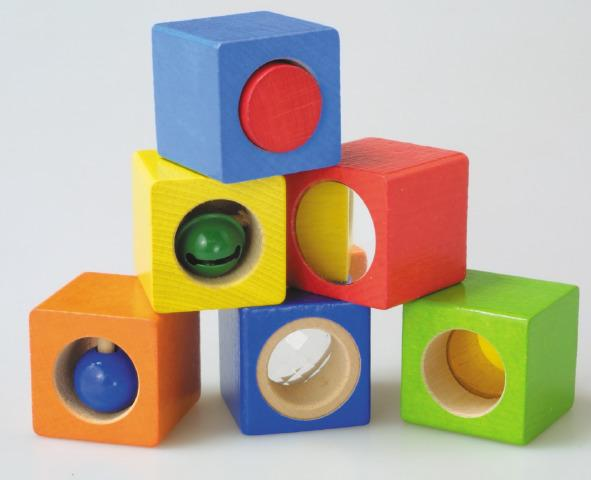 Set of 6 Building Discovery Blocks
