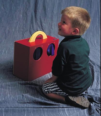 Webb Activity Box - Portable Sensory Toy Activity Box