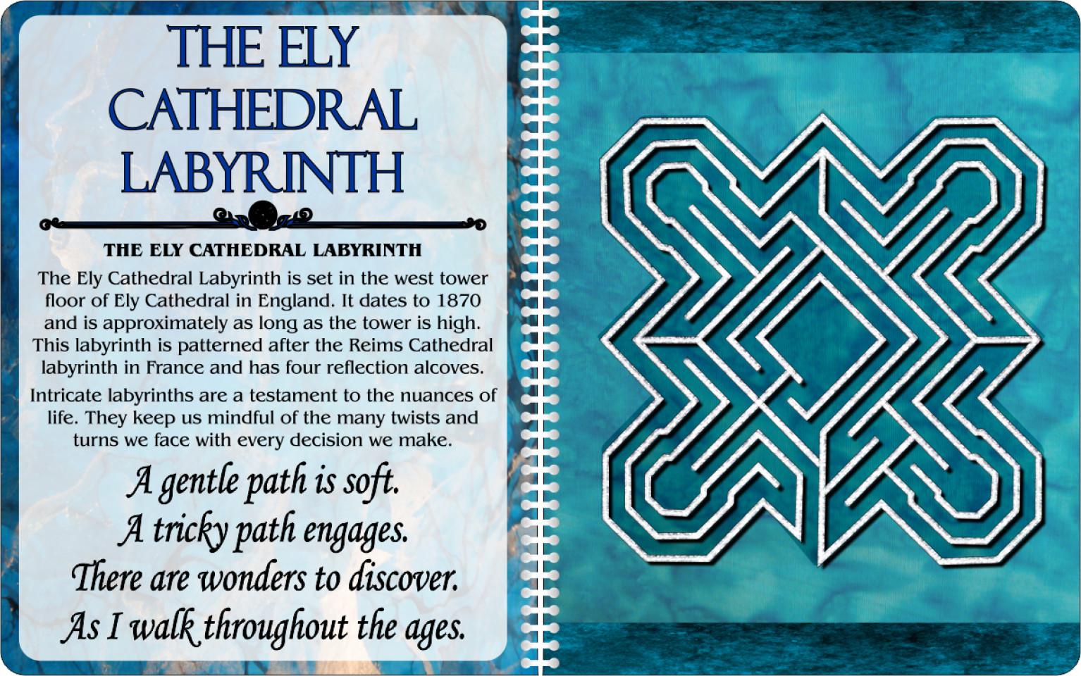 Finger Labyrinth Workbook