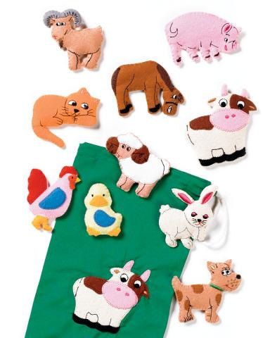 Fuzzy Farm Animals