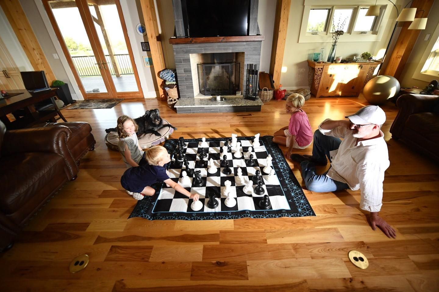 Jumbo Chess and Checkers Set