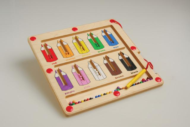 Magnetic Sorting Puzzle