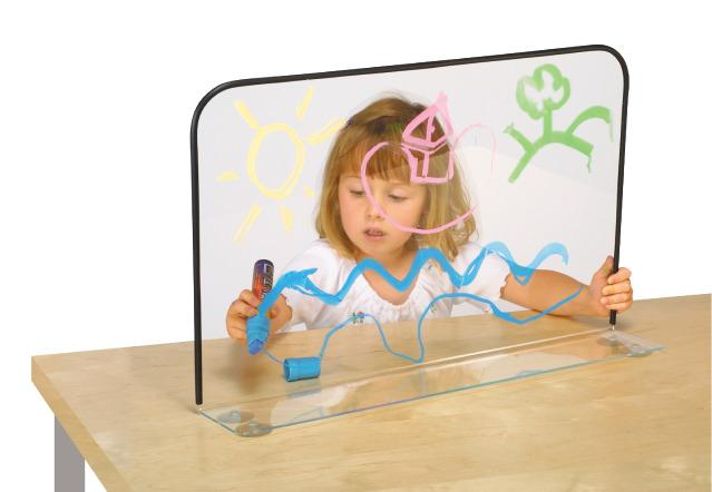 Clear Painting Easel - Self Expression Sensory Toy