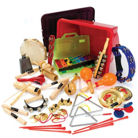 Percussion Class Pack - Musical Instrument Collection