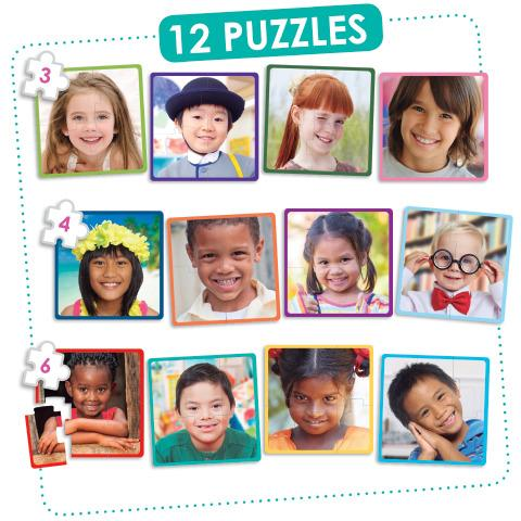 Happy Children Puzzle