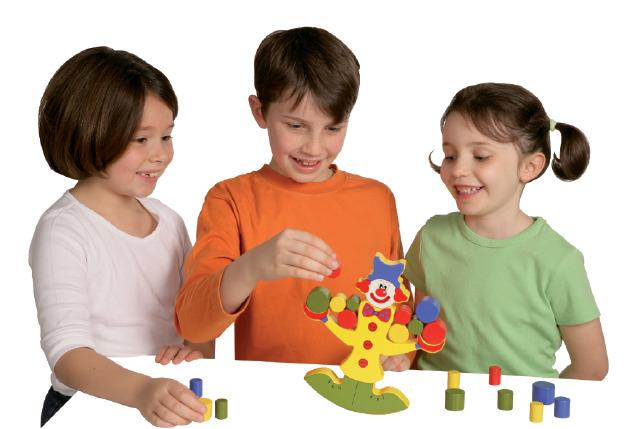 Rocking Clown - Games Sensory Toy