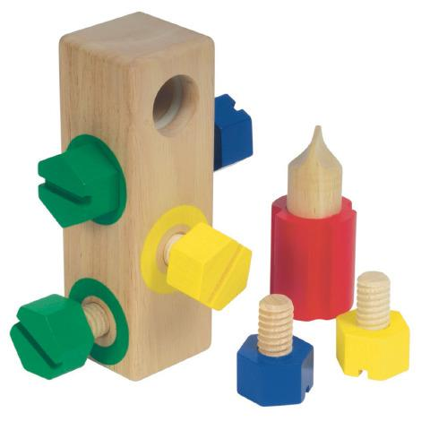 Screw Block - Achievement Sensory Toy