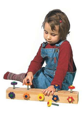 Screw-In Flowers - Fine Motor Special Needs Toy