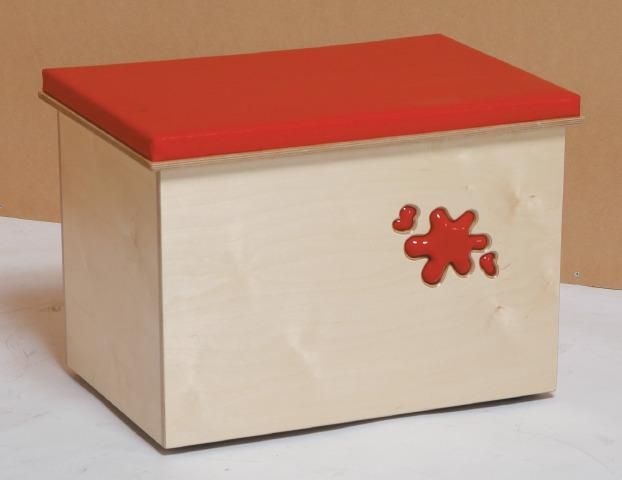 Big Wooden Toy Box, Multi Purpose