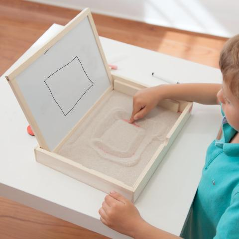 Single Sand Tray - Art Special Needs Toy