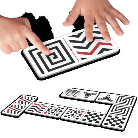 Tactile Dominoes