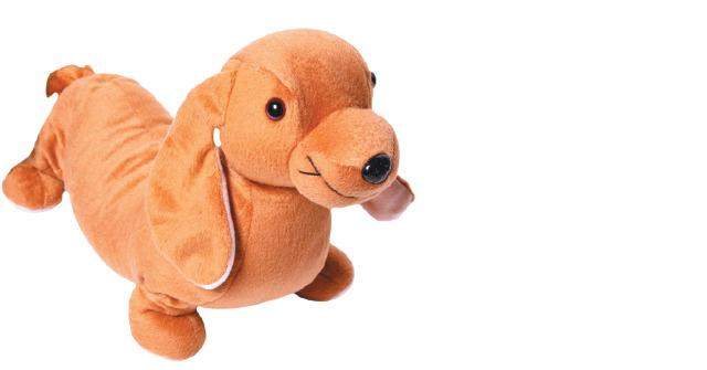 Weighted Sausage Dog Plushie 2.27Kg