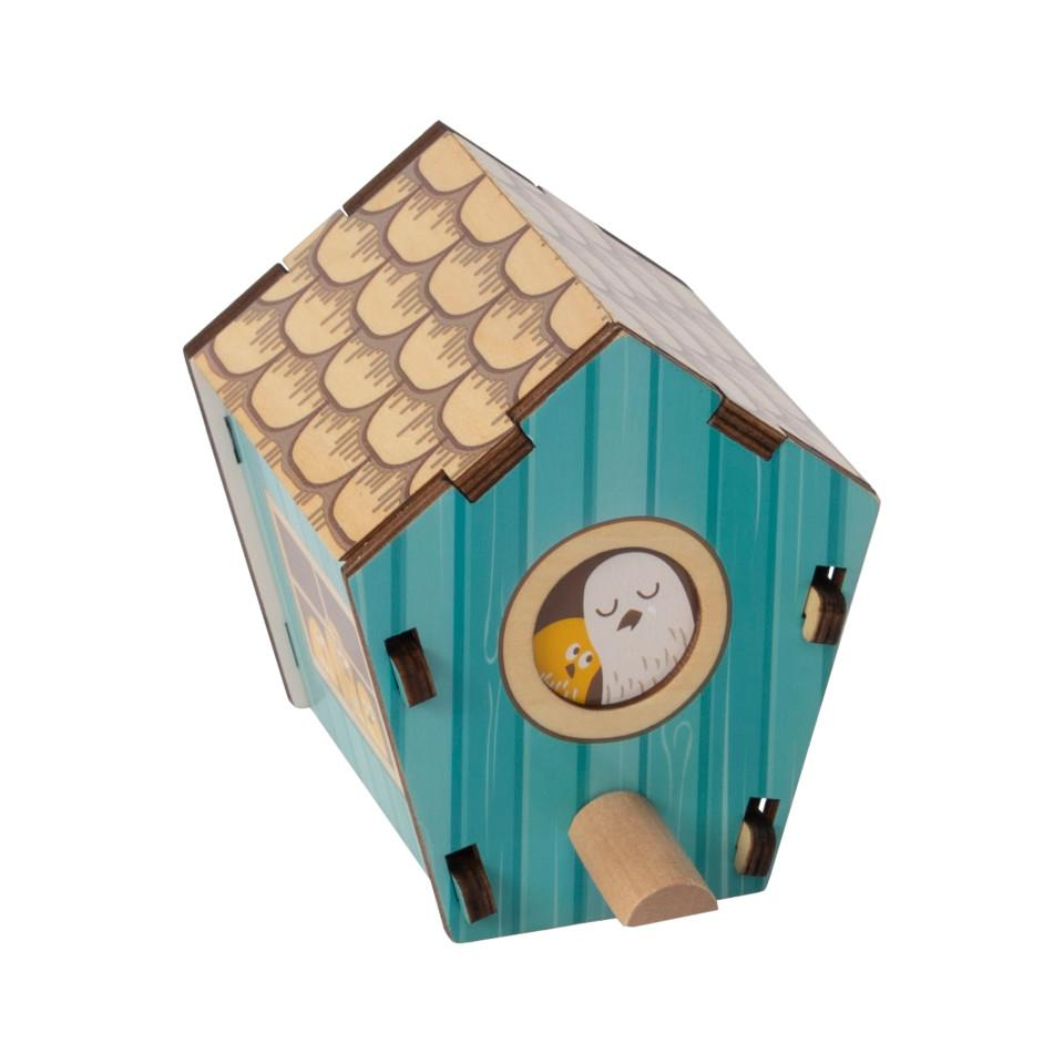 Build It Blueprint Puzzle-Birdhouse