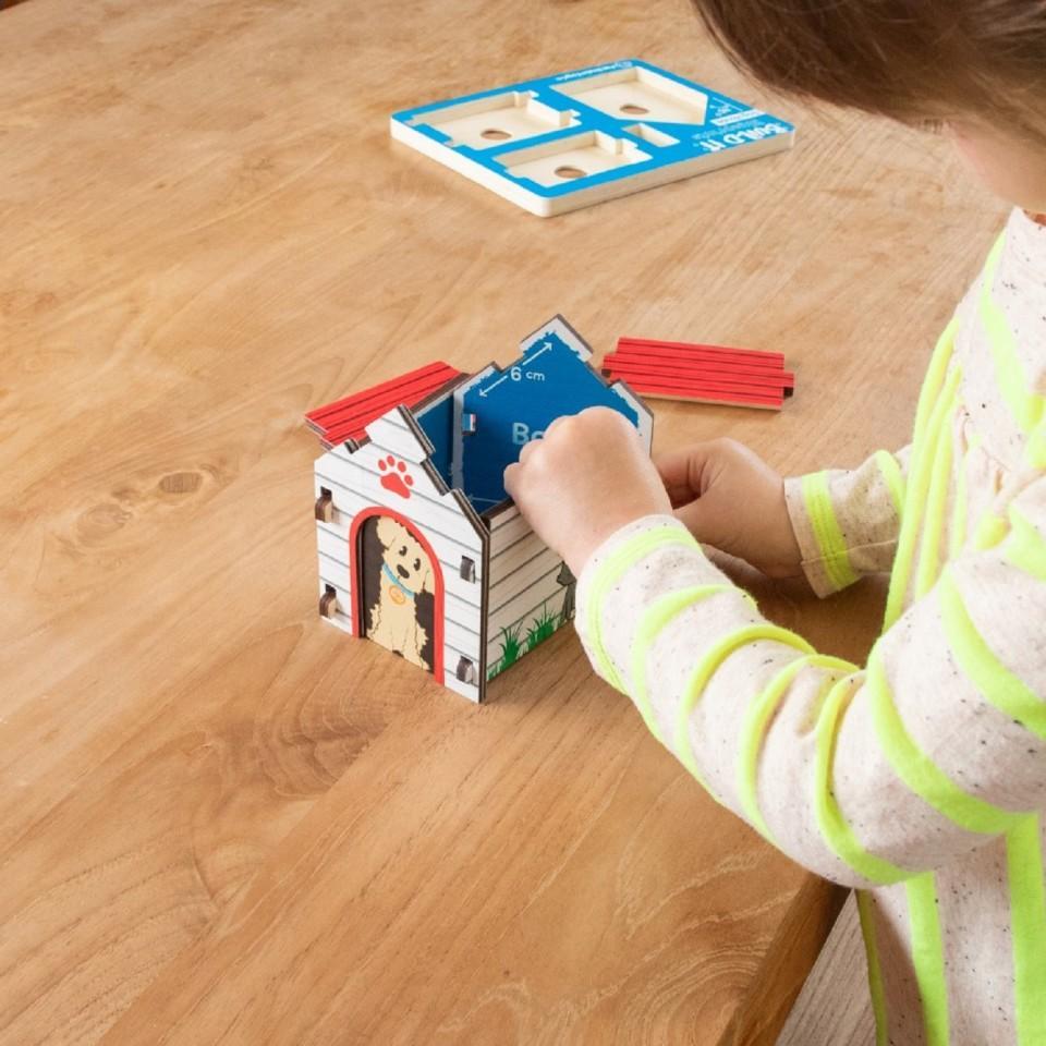 Build It Blueprint Puzzle Barn