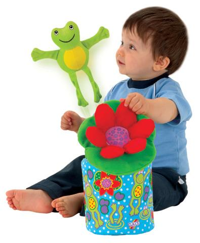 Frog-in-a-box - Achievement Sensory Toy
