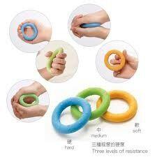 Graduated Squeezer Rings